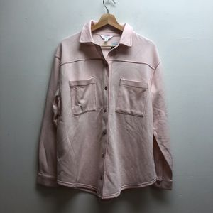 Time & tru pink button up